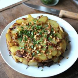 Gâteau de pommes de terre DELICATESSE®, ail et persil