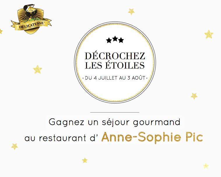 Gagnez un séjour de rêve chez Anne-Sophie Pic !
