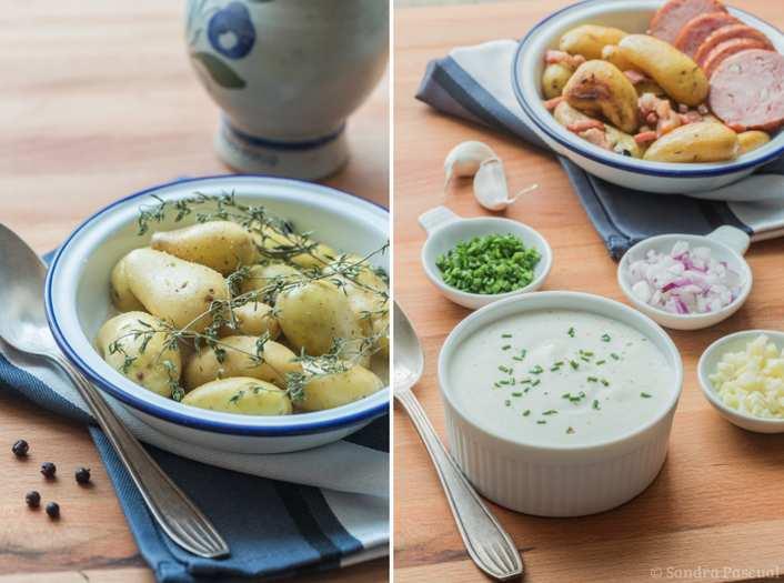 Bibeleskaes, le fromage blanc alsacien & ses petites pommes de terre DÉLICATESSE®