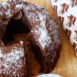 Bundt cake au chocolat, noix de coco et pommes de terre DÉLICATESSE®