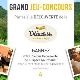 Grand Jeu-concours Délicatesse de la Drôme