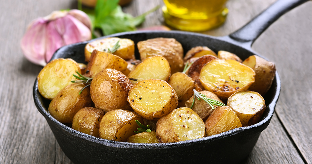 Pomme de terre la po le astuce pour cuire la d licatesse - Pomme de terre grille a la poele ...