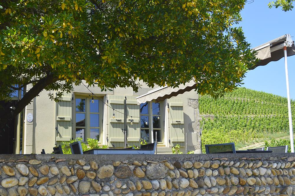 Terrasse maison gambert