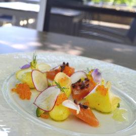 Salade de pommes de terre DÉLICATESSE® à la truite