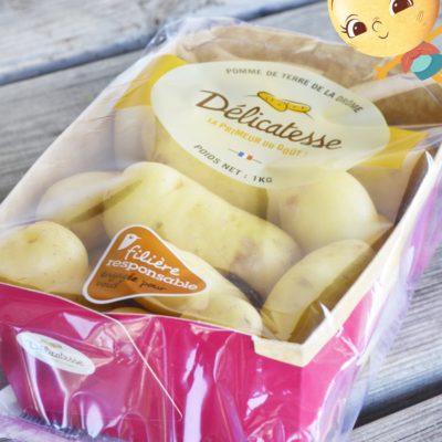 Packaging Délicatesse de la Drome - Auchan filière agricole