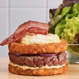 Röesti burger de pomme de terre Délicatesse !