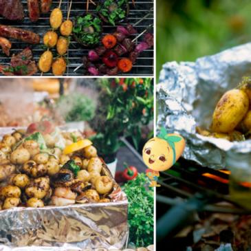 Comment cuisiner la pomme de terre Délicatesse de la Drôme au barbecue ?