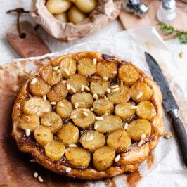 Tarte tatin aux pommes de terre Délicatesse