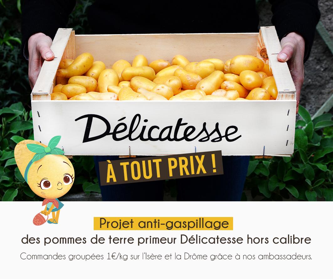 """Prix Caisse A Pomme projet anti-gaspillage """"délicatesse à tout prix"""" - pomme de"""